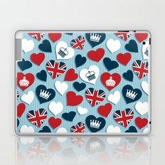 UK Hearts Laptop & iPad Skin