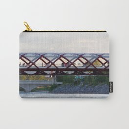 Peace Bridge Calgary Carry-All Pouch