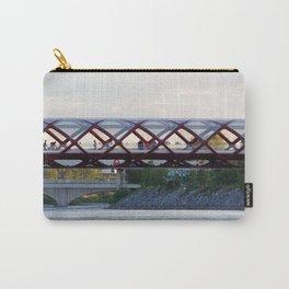 Peace Bridge Calgary Carry-All Pouch