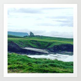 Adventures, Mullaghmore Ireland Art Print