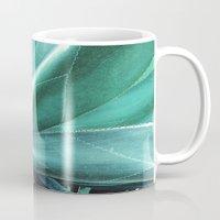 cactus Mugs featuring Cactus by Alexandra Str