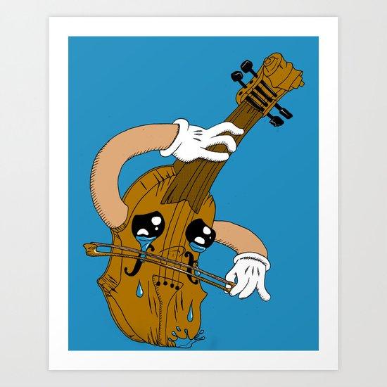 The Saddest Song Art Print