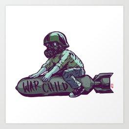Warchild Art Print