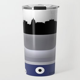 MADISON - MSN - AIRPORT CODE AND SKYLINE Travel Mug