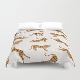 Tiger Print Duvet Cover