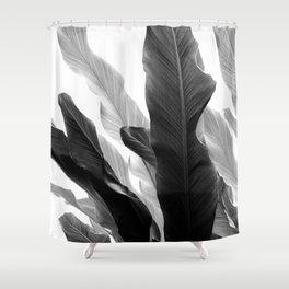 Banana Leaves Jungle #3 #tropical #decor #art #society6 Shower Curtain