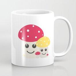 Cute colorful mushrooms Coffee Mug