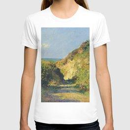 """Claude Monet """"Le chemin creux"""" """"(The hollow road)"""" T-shirt"""