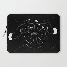 Nah future - crystal ball Laptop Sleeve