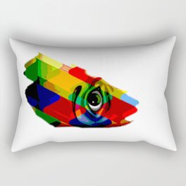 eye posterize Rectangular Pillow