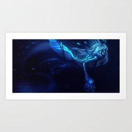 Deep Sea Mermaid Art Print