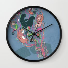 My day off Wall Clock