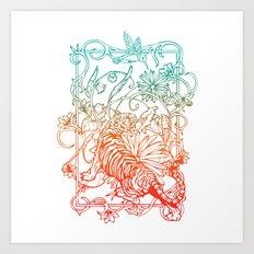 Harmony of life Art Print