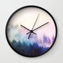 Haven's Path Wall Clock