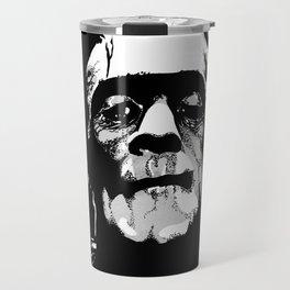 Boris Karloff Frankenstein Travel Mug