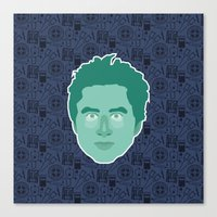 scrubs Canvas Prints featuring JD - Scrubs by Kuki