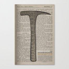 The Shawshank Redemption: Salvation lies within Canvas Print