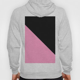 Just two colors 1: pink and black Hoody