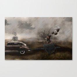 The Tour Gothic Surrealism  Canvas Print
