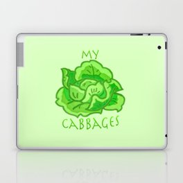 my cabbages! Laptop & iPad Skin