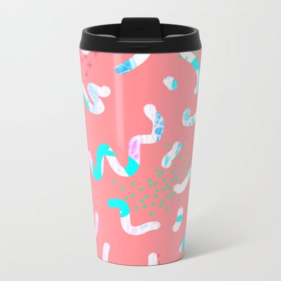Squiggle 2 Metal Travel Mug