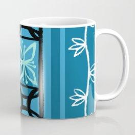 Hawaiian Pattern #1 - aqua! Coffee Mug