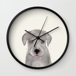 little great dane Wall Clock