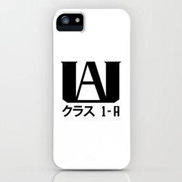 U.A. High (My Hero Academia) iPhone Case