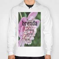 scripture Hoodies featuring Brenda scripture by KimberosePhotography