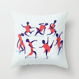 alors on danse Throw Pillow