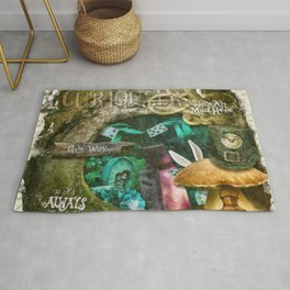 Down the Rabbit Hole Rug