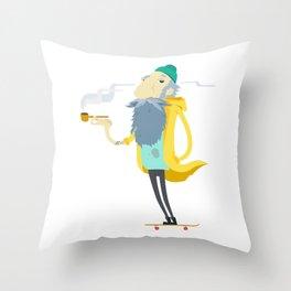 Street Sailor Throw Pillow