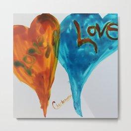 Love duo | Duo d'amour Metal Print