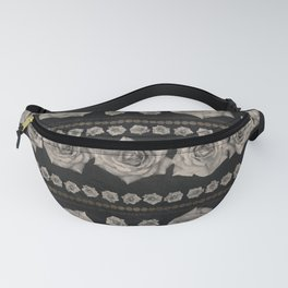 Vintage Floral with Golden Accents #2 Fanny Pack