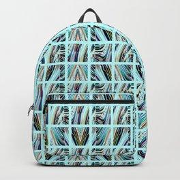 Aqua Grid Backpack