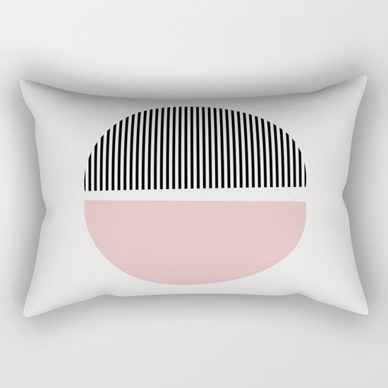 Minimalist Abstract Rectangular Pillow