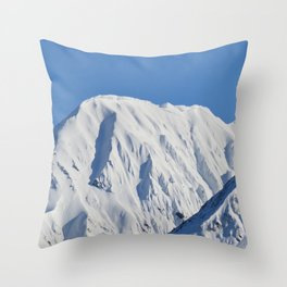 Portage Valley Mts. Throw Pillow