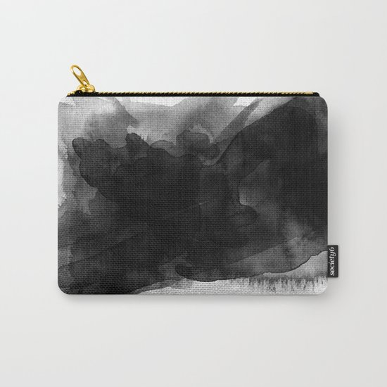 Minimalist watercolor ink Carry-All Pouch