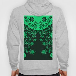 floral ornaments pattern chp150 Hoody