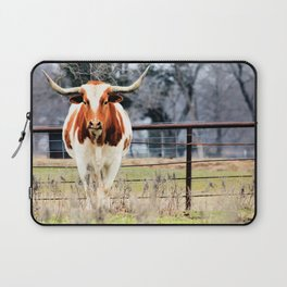 Texas Longhorn Morning Laptop Sleeve