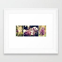 In the Garden together Framed Art Print