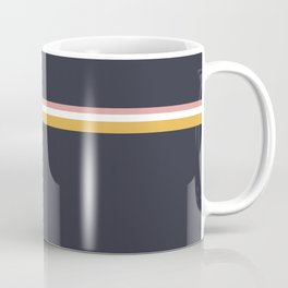 Minimal Pattern :: 3 Lines Coffee Mug
