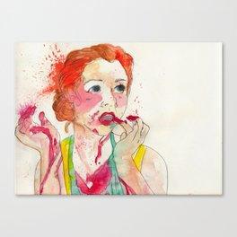 yumm Canvas Print