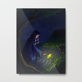 The Healer Woman Metal Print