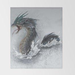 water dragon  Throw Blanket