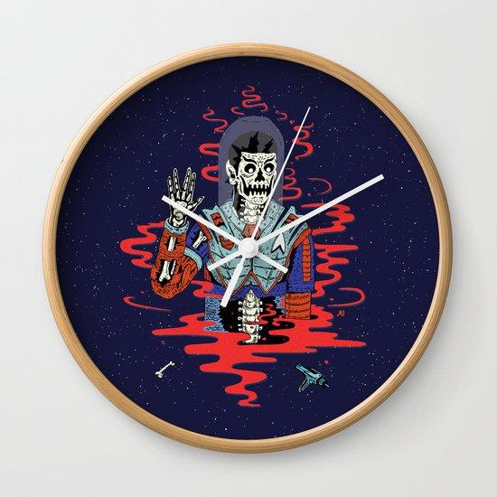 Dead Spock Wall Clock