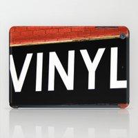 vinyl iPad Cases featuring Vinyl by Biff Rendar