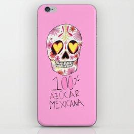 100% azucar mexicana iPhone Skin
