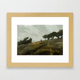 wind rises Framed Art Print