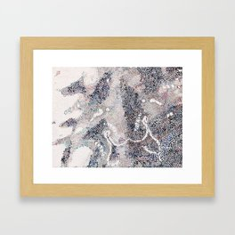 Crab Shell I Framed Art Print